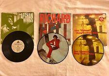 "10"" Vinyl Record Album Lot KURT COBAIN Picture Disc AFGHAN WHIGS British Import"