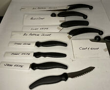 All New 9 Piece Set- Miracle Blade III -Stainless Steel Perfection Series Knives