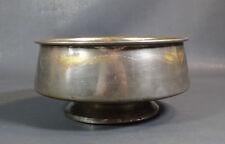 1896 Antique Imperial Russian Brass Samovar Drip Bowl Kolchugino Double Eagle