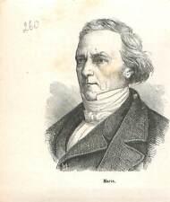 Pierre Marie de Saint-Georges ministre de la Deuxième République GRAVURE 1883