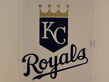 Kansas City Royals MLB Reusable Static Cling Jumbo Decal