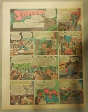 Superman Sunday Page #210 by Siegel & Shuster from 11/7/1943 Tab Page:Year #5!