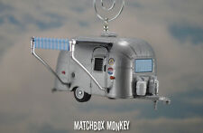 Deluxe Airstream Bambi 16' Camper w Awning Trailer Custom Christmas Ornament RV