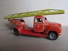 428O 1950'S Tippco US Zone TCO-003 Allemagne Camion Pompiers Echelle L 17,6 cm