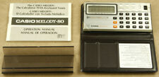 Casio ML-80 Melody-80 Vintage Calculator Made in Japan MINT