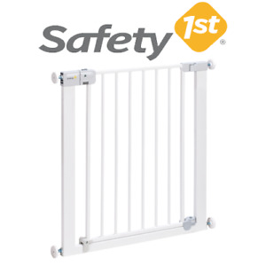 Safety 1st Baby Proofing Auto Close Kids + Pet Metal Stair Gate Easy Install