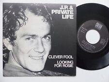 J.P. & PRIVATE LIFE  JP DEN TEX  Clever fool   CREAM 45055 FRANCE     RRR