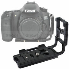 Vertical Shoot Quick Release Plate/Camera Bracket Grip for Canon EOS 70D/40D/10D