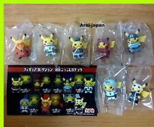 New Pokemon Pikachu Small Figure x all 7P Skull Magma Team Rocket secret Japan R