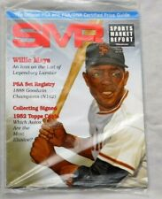 WILLIE MAYS GIANTS June 2017 SMR Sports Market Report PSA Price Guide Sealed
