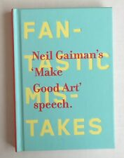 Make Good Art by Neil Gaiman (2013, Hardcover)-SIGNED