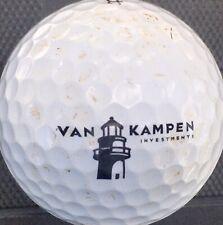 Van Kampen Investments logo On Prov1 golf ball Titleist Pro V Display Financial