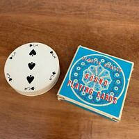 Vintage Round Playing Cards - Plastic Coated Deck Chadwick-Miller Hong Kong