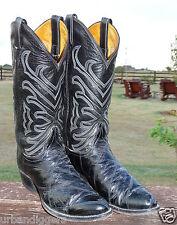 11917/ Vintage Mens Tony Lama Western Cowboy Boots ~ Shoe size 9.5 B ~