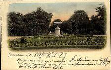 Rotterdam Niederlande Color AK 1901 frankiert gelaufen Rotterdamsche Diergaarde