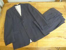 Hugo Boss striped navy blue men's suit size 50