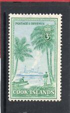Cook Islands GV1,1949 3s lt.blue & bluish green sg 159 VLH.Mint