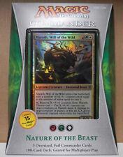 Magic 2013 Commander Nature of the Beast Deck + Bonus Item