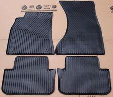 Audi A4 B8 original Fußmatten Gummimatten 8K vorne hinten rubber mats front rear