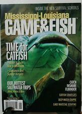 Mississippi Louisiana Game & Fish Catfish Survival June 2016 FREE SHIPPING JB