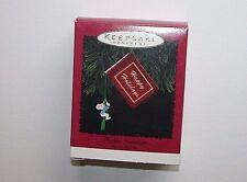 NEW Hallmark Keepsake Christmas Ornament 1995 Happy Holidays Photo Holder