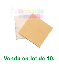Lot de10 Abrasif sur mousse, grain P400, ponçage, abrasif, feuilles, disques