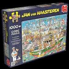 Auf dem Schiff ist nichts im Griff - Haasteren Puzzle Jumbo 19014 1000 T NEU OVP