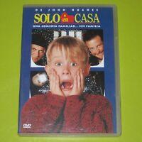 DVD.- SOLO EN CASA - JOHN HUGHES - MACAULAY CULKIN
