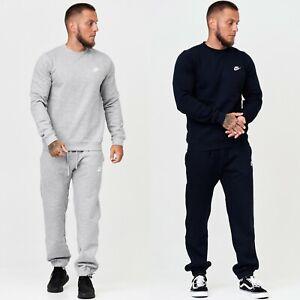 Nike Herren Traingsanzug Sweatanzug Jogginganzug Sweater Pullover Hose Fleece