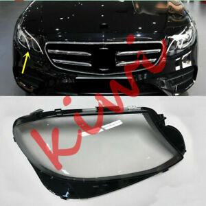 1*Right Headlight Cover transparent pc+Glue  For Mercedes-Benz W213 E 2017-2019