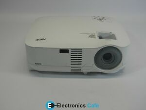 NEC VT490 600:1 Contrast 2000 Lumens LCD Video Projector *No Lamp/Remote*