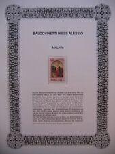 Irrtümer auf Briefmarken / Malawi 1988 Mi 524 : Gemälde von A. Baldovinetti