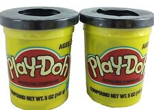 Play-doh BLACK  2 Pack  5 oz. Ea.