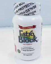 Estroblock Pro Triple Strength 60 Capsules EXP 02/23 NEW! SEALED!