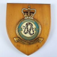 Royal Air Force No 26 Squadron Military Wall Plaque Crest Shield RAF H/Painted