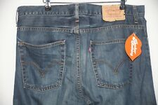 Mens LEVIS 507 Jeans BOOTCUT Fitting ZIP Fly RED TABS Distressed W36 L30  P37