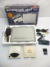 PC-ENGINE INTERFACE UNIT IFU-30 BOXED + PCE CONSOLE CD-ROM2 CONTROLLER SET NEC
