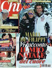 Chi 2015 1.Giorgio Rocca-Maria De Filippi,Ilaria D'Amico-Buffon,Lapo Elkann