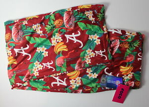 University of Alabama Women's XL 16-18 Hawaiian Floral SOFT Lounge Pajama Pants