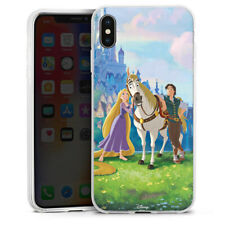Apple iPhone Xs Max Silikon Hülle Case - Tangled