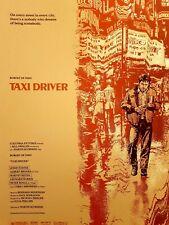Ansin Taxi Driver Mondo poster artist Ruas Stout Edmiston