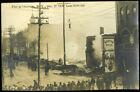 RPPC REAL PHOTO Fire Oneonta NY Dec 27th 1908 **LOOK**