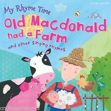 My Rhyme Time -  Old Macdonald Had A Farm & Other by Miles Kelly (2014) - New