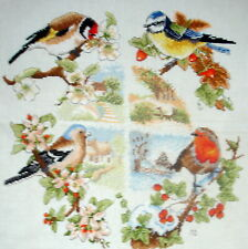 Anchor Counted Cross Stitch Unframed Tapestry Picture Birds & Seasons