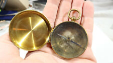 Early French Testrite Brass Compass