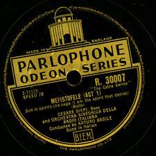 "CESARE SIEPI -Bass-  ""Mefistofele"" Son lo spirito / ""I Vespri Siciliani""   G2775"
