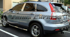 2007-2011 Honda CRV 6Pc Chrome Pillar Post Stainless Steel Door Cover Accent