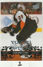 2008 08-09 Upper Deck #235 Claude Giroux YG RC Young Guns Rookie