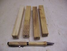 4 Mulberry Pen Blanks Wood Turning #254