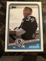 1988 Topps Bo Jackson LA Raiders #327 Football SUPER ROOKIE Card PSA 10? RARE 💎